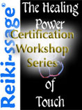 Reiki-ssage Certification
